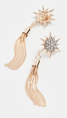 Anton Heunis Omega Clasp Double Star Earrings