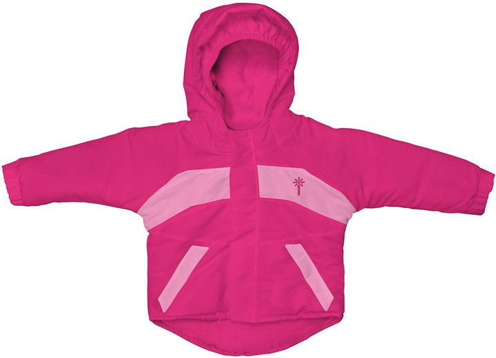 I Play Winterwear Waterproof Jacket - Hot Pink-12 Months