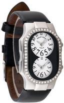 Philip Stein Teslar Diamond Dual Time Zone Teslar Watch