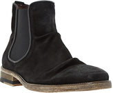 Bertie Chingy Washed Suede Chelsea Boots