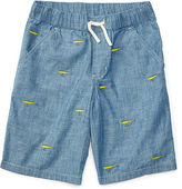 Ralph Lauren 8-20 Embroidered Cotton Short