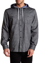 James Campbell Banya Hooded Regular Fit Shirt Jacket