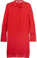 McQ by Alexander McQueen Chiffon Shirt - Red