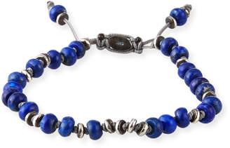 M. Cohen Men's Templar Jointed Gemstone Bracelet, Blue