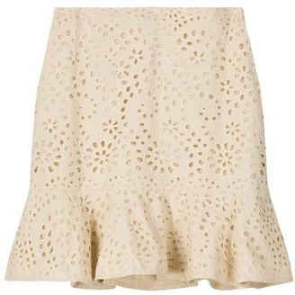 Vanessa Bruno Cotton Natty mini-skirt