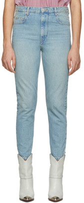 Etoile Isabel Marant Blue Denim Neaj Jeans