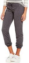 Calvin Klein Brushed Jersey Tapered-Leg Sweatpants