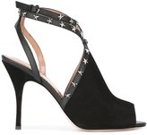 RED Valentino stud stiletto sandals - women - Goat Skin/Leather - 37.5
