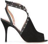 RED Valentino stud stiletto sandals - women - Goat Skin/Leather - 39