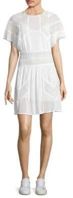 IRO Vilda Lace Applique Dress