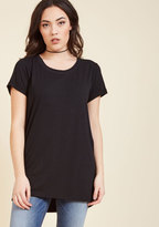 ModCloth Simplicity on a Saturday Tunic in Black in 3X