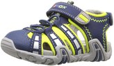 Geox Kraze 33 (Inf/Tod) - Navy/Lime Green - 20 EU/4.5 US