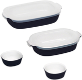 Corningware Midnight Blue 6-Piece Baking Dish Set