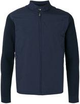 Z Zegna contrast sleeve lightweight jacket - men - Cotton/Polyamide/Polyester - XL