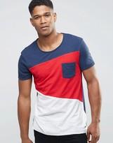 Esprit Color Block Cut & Sew T-Shirt