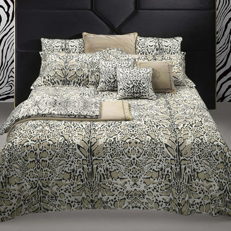 Roberto Cavalli Linx Bed Set - Ivory - King