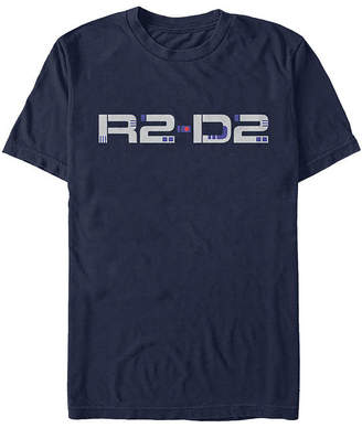 Star Wars Novelty T-Shirts Slim Rise Of Skywalker R2 Droid Text Mens Crew Neck Short Sleeve Graphic T-Shirt
