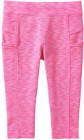 Joe Fresh Toddler Girls' Active Crop Legging, Pink (Size 2)
