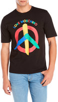 Love Moschino Painted Peace Tee