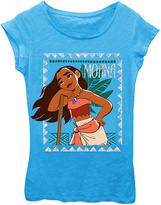 Freeze Turquoise 'Moana' Short-Sleeve Tee - Girls