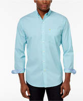 Izod Men's Striped Stretch UPF 15+ Performance Shirt, Created for Macy's