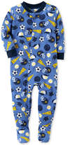 Carter's 1-Pc. Sports-Print Footed Pajamas, Baby Boys (0-24 months)