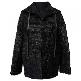 Chanel Black Wool Jackets