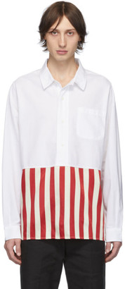 Visvim Red Stripe Talbot P.O. Shirt