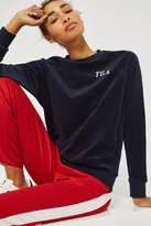 Fila Oversized Velour Sweater
