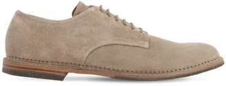 Pantanetti 25mm Suede Lace-up Shoes