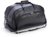 Royce Leather Royce New York Leather Organizer Duffel With Shoe Compartment