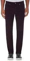 Incotex Men's Ray Five-Pocket Stretch-Cotton Pants-PURPLE