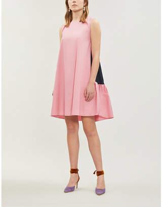 Roksanda Fuji cotton-poplin mini shift dress