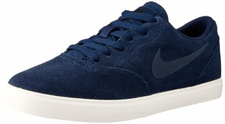 Nike Men's SB Check Suede (GS) Skateboarding Shoes