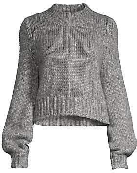 The Kooples Women's Merino Wool-Blend Crewneck Sweater