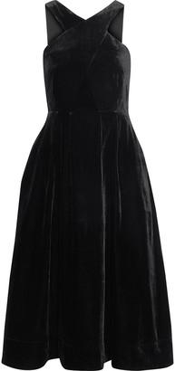 Iris & Ink + Laura Bailey The Isabella Velvet Dress