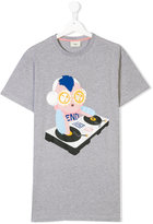 Fendi DJ Set print T-shirt