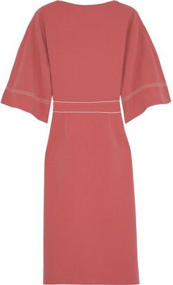 Roksanda Mave Bow-embellished Crepe Dress