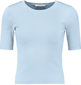 Carven Ribbed stretch-knit top