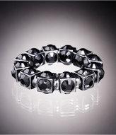 Rhinestone Cube Stretch Bracelet
