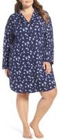 Lauren Ralph Lauren Plus Size Women's Print Sleep Shirt