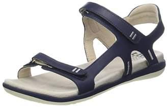 TBS Women's Raniah Open Toe Sandals, Blue (Marine + Chambray F7m52)