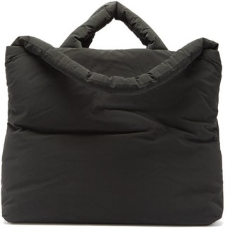 Kassl Editions Pop Oil Velvet Large Coated-canvas Tote Bag - Black
