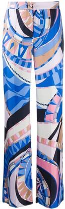 Emilio Pucci Wally-print trousers