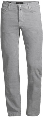 Kiton Straight-Fit Stretch Cotton Pants
