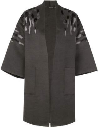 Natori Felted Oversized Coat