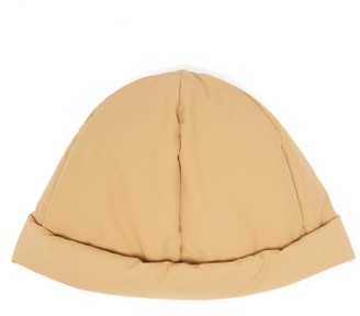 Jil Sander Technical Down-filled Beanie Hat - Womens - Camel