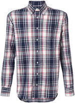 Gitman Brothers checked shirt