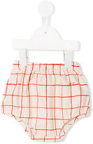 Bobo Choses checked culottes - kids - Organic Cotton - 9-12 mth