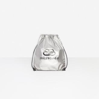 Balenciaga BB Explorer Drawstring Backpack
